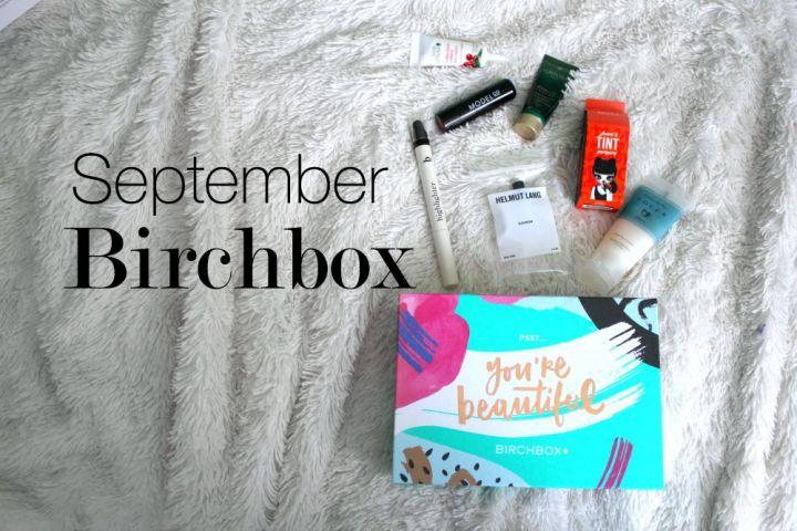 September Birchbox 2015